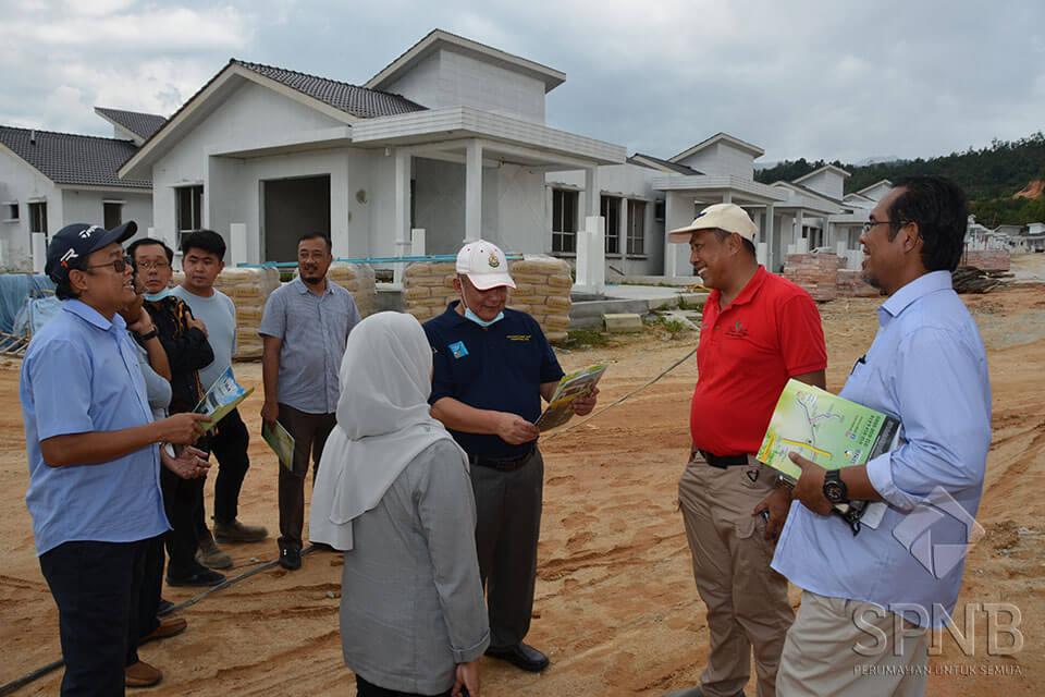 Image Lawatan ke Tapak Projek Vila Idaman