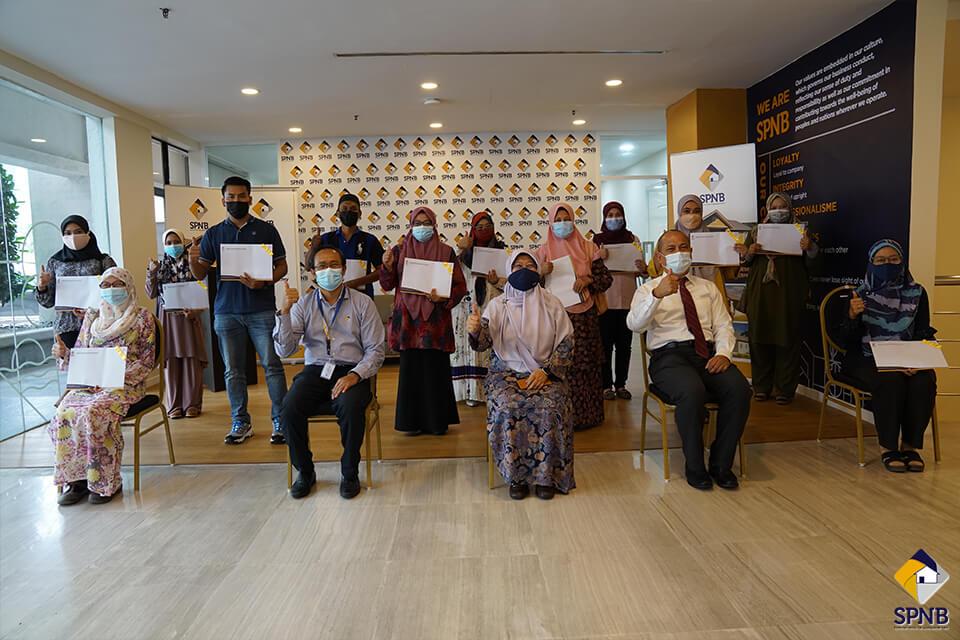 Image Majlis Penyerahan Surat Tawaran RMR Selangor